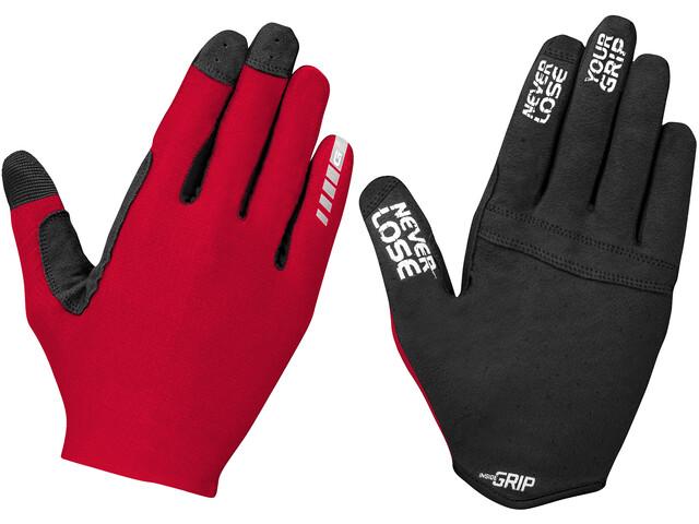 GripGrab Aerolite InsideGrip Rękawiczki, czerwony/czarny